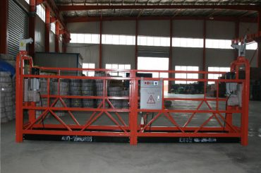 Platforma e platformës së pezulluar për platformën e platformës së rregullueshme pune