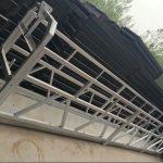 zlp630 / 800 ll formë aliazh alumini, ndërtimin e çelikut pezulluar ashensor platformë pune në dritaret e ndërtimit