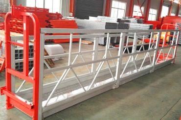 sistemet e skelave të pezulluara në aliazh alumini 1000 kg 2.2 kw për pastrimin e dritareve