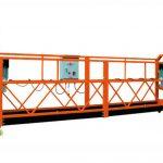 2.5mx 3 seksione 1000kg platforma e aksesit pezulluar shpejtësia e ngritjes 8-10 m / min