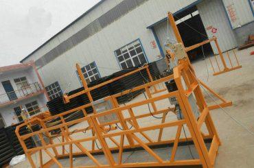 të besueshme zlp630 pikturë çeliku pezulluar platformë pune për ndërtimin e ndërtimit
