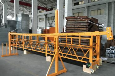zlp 500 lp 630 platformë përkohësisht e pezulluar për litar teli për ndërtim