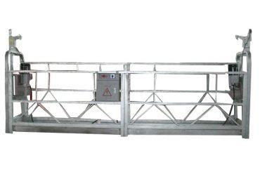 rritje të lartë aliazh alumini zlp800 platforma e pezulluar pune për pastrimin e dritareve