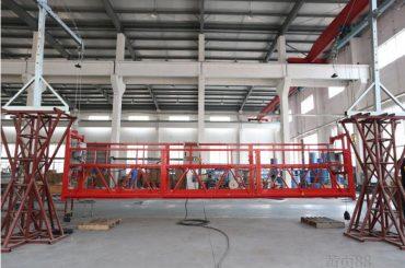 10 metra aliazh alumini platformë pune e pezulluar me ngritje ltd8.0